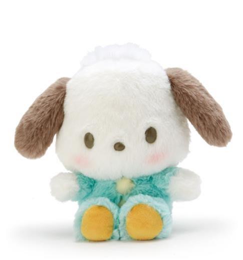 【莓莓小舖】正版 ♥ Sanrio 三麗鷗 Pochacco 帕恰狗 棉柔造型娃娃 玩偶