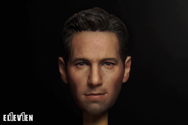JAMES ROOM#ELEVEN 1/6 兵人復仇者聯盟蟻人真人頭雕保羅路德頭雕