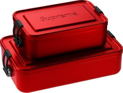 (TORRENT) 2018 春夏 SUPREME SIGG™ METAL BOX PLUS LARGE 便當盒 大