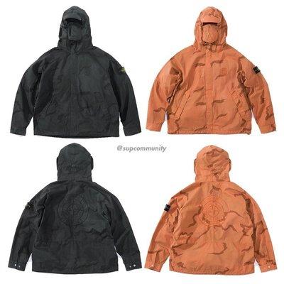 【美國鞋校】預購Supreme ss19 Stone Island Riot Mask Camo Jacket 外套