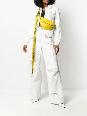 OFF WHITE 超長工業背帶 腰包 胸口包