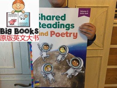 50cm美國基準教育大地板書 shared readings & poetry 3 啟蒙教