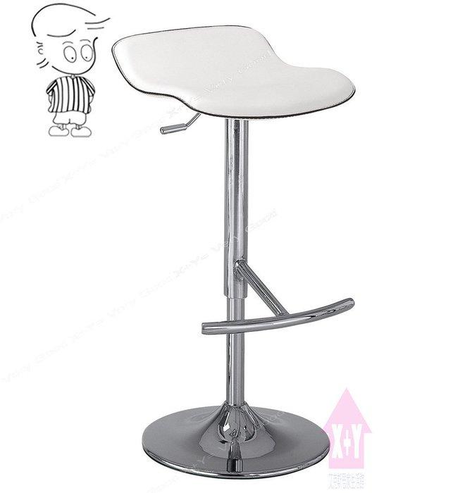 【X+Y時尚精品傢俱】現代吧檯椅系列-凱迪 吧台椅(白色).坐墊高級馬鞍皮.摩登家具
