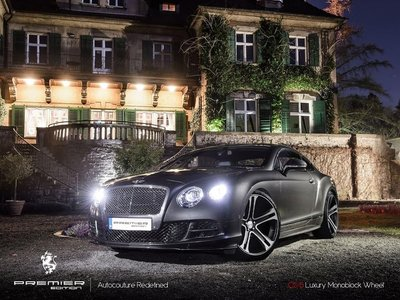 22吋 鋁圈 PREMIER Bentley Continental Gt Mulsanne Flying Spur