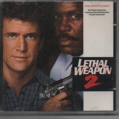 Lethal Weapon 2 致命武器2 電影原聲帶 無ifpi580800004021 再生工場 03