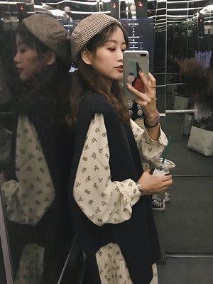 雪紡洋裝7-11全家正韓國版樸正義秋裝...