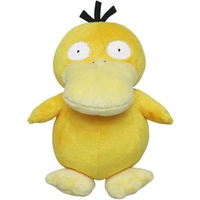 尼德斯Nydus  日本正版 精靈寶可夢 神奇寶貝Pokemon 絨毛玩偶 娃娃 Psyduck 可達鴨 約15cm