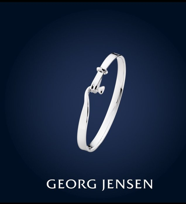 【小麥的店】GEORG JENSEN 喬治傑生 TORUN 朵蘭純銀 手鐲 手鍊 #204