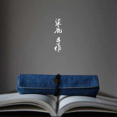 全館超增點大放送日式文藝復古捲簾筆袋男...