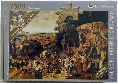 歐洲進口拼圖 Ric The Procession to Calvary 遊行到各各他山 1500片拼圖 16193