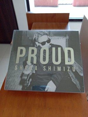 清水翔太 PROUD 專輯CD+DVD  含外盒  99.99新