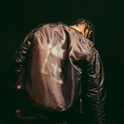Travis Scott Ksubi Reflective bomber jacket反光印花棉衣夾克