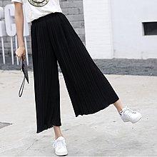 YOHO 寬褲 (SP0330) 高腰顯瘦彈力舒適雪紡寬褲 闊腿褲