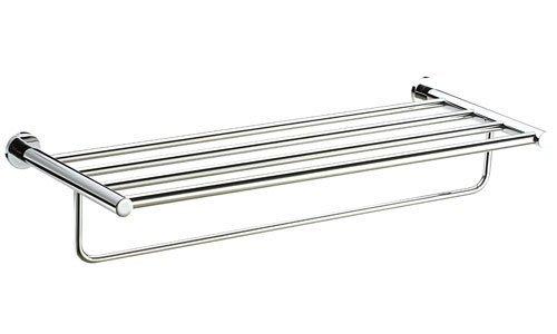 《101衛浴精品》台灣製造 BOSS 雙層 置物架 置衣架 置衣平台架 D-3310-1 寬度50cm《免運費》