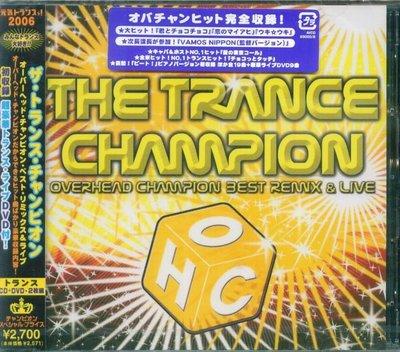 K - The Trance Champion Overhead Champion Best Remix  日版 NEW