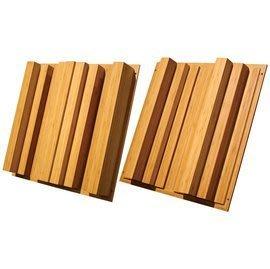 《名展影音》美國 Auralex Sustain QuadraTec™ 竹製 菱形角 擴散板 一組兩片