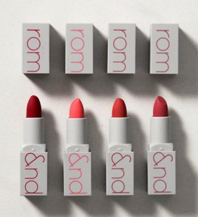 ROM&ND Zerogram matte lipstick 莓果色系霧面唇膏 8色預購中