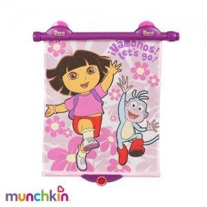 【魔法世界】美國 Munchkin 滿趣健   Dora 遮陽簾 設有過熱提醒裝置