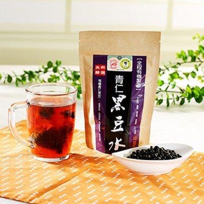 代購~(200包組1439含運)台灣好品-全程有機認證天然有機青仁黑豆水-有機認證(200包組)