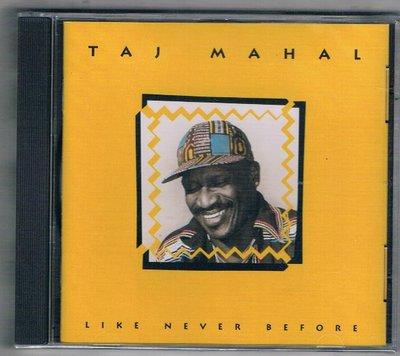 [鑫隆音樂]西洋CD-TAJ MAHAL / LIKE NEVER BEFORE {261679}全新/免競標