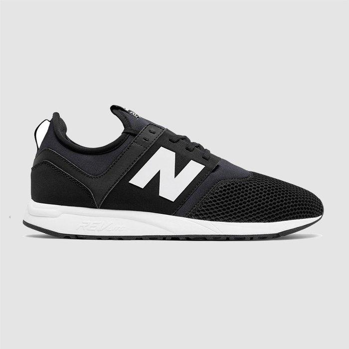 【QUEST】現貨 New Balance 247 黑白 襪套 網布 反光 輕量化 慢跑鞋  MRL247BG