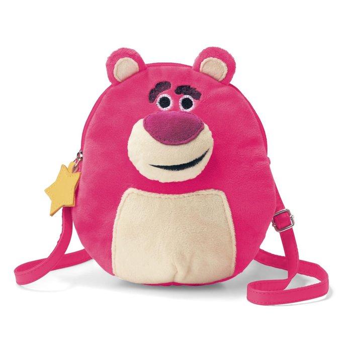 迪士尼Disney《預購》柔軟蓬鬆手機肩背包 小物包~熊抱哥 維尼 杯麵~日本正品~共3款~心心小舖