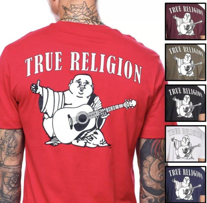 @50%OFF@TRUE RELIGION SUPER T 彌勒佛 T SHIRT T 短袖 (( 含國際運費 ))