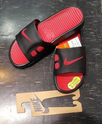 已缺貨 NIKE 拖鞋 BENASSI SOLARSOFT SLIDE 431884-011 黑 紅