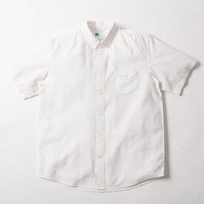 【YOYOGI PLUS】ADLIB - Circle Pocket Shirt (ST409) 白