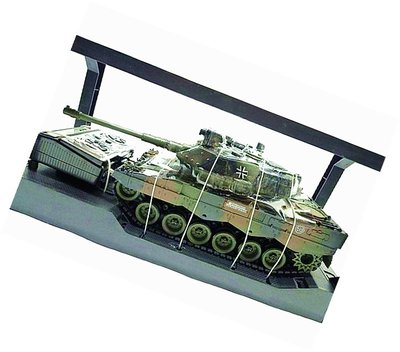 創億RC  **德國豹式 遙控坦克-聲光戰車/可發射BB彈/砲管有後座力 (11)現貨1/20