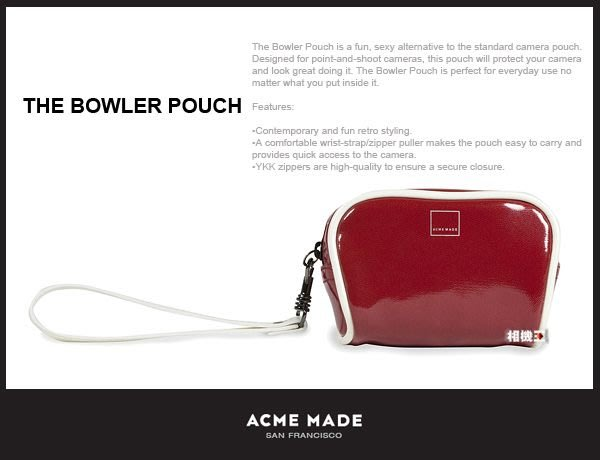☆相機王☆Acme Made Bowler Pouch 蘋果包 相機包 (2)