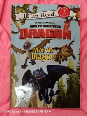 *NO.9 九號書店* How to Train Your Dragon  英文繪本童書 SCHOLASTIC
