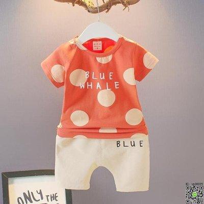 套裝 男童短袖套裝2019夏季韓版嬰幼兒童夏裝1-2-3-4歲寶寶T恤短褲童裝 10款
