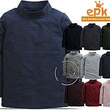 媽咪家【AA155】AA155彈性立領上衣 epk 長袖 中厚 套頭 高領 素面 純色 內搭衣 立領衫-86~150