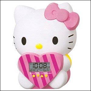41+ 現貨不必等 正版授權 凱蒂貓 SEIKO精工 數位時鐘/鬧鐘 4517228033322 my4165