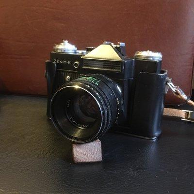蘇聯製 ZENIT-E 機械相機 古董 單眼 相機 裝飾品 收藏品 擺飾