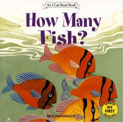 *小貝比的家*ICR: HOW MANY FISH? 1ST /單CD/3~6歲