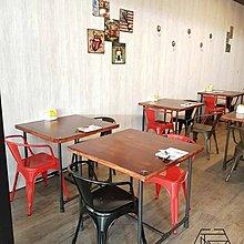 佳源木材 水管工業風立布6分法蘭片餐桌會議桌開店燒烤書桌木桌鐵腳鐵件桌鐵桌鄉村風訂做客訂