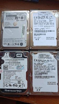 良品一起賣 日立 WD fujitsu 100GB 160G 200G 250G SATA 2.5吋 硬碟 台北市