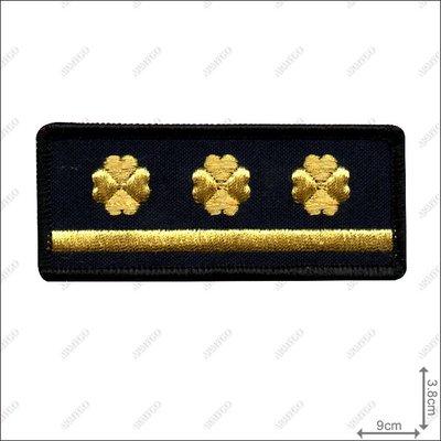 【ARMYGO】法務部矯正署監所管理員階級胸章 (一線三)