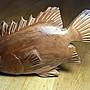 鯛魚紅豆杉雕