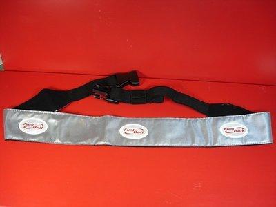 FUELBELT-reflective waistband,反光腰帶,大幅提昇凌晨,傍晚或夜間練跑的能見度與安全,腰圍8