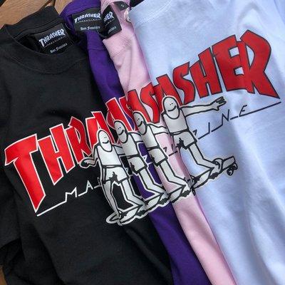 ☆ETW☆【一中店】日線 THRASHER HOMETOWN GONZ TEE 滑板人 塗鴉 短袖 T恤 短T 現貨