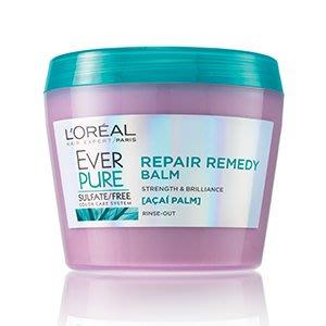 全台首賣 ⭐加拿大製造 現貨// LOreal 巴黎萊雅 EVERPURE 純淨植萃修護髮霜 250ml 零矽靈