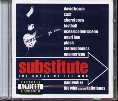 (甲上唱片) SUBSTITUTE - THE SONG OF THE WHO - 歐版