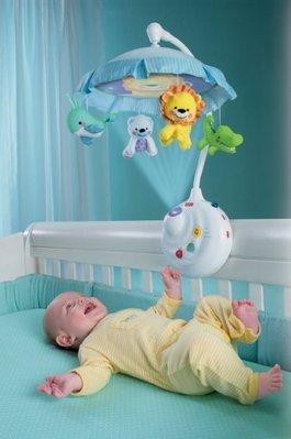 【Sunny Buy寶貝館】◎現貨1◎Fisher-Price 2-in-1 嬰兒 搖控 投射音樂鈴 電動 旋轉音樂鈴