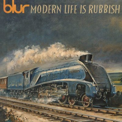 Blur 布勒合唱團 模糊樂隊 -- Modern Life Is Rubbish 無聊現代生活