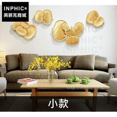 INPHIC-壁飾鐵藝心形葉客廳東南亞...