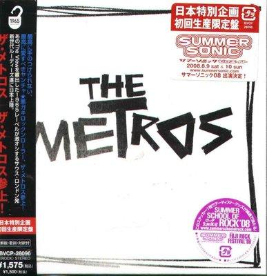 K - The Metros - The Metros Ep - 日版 CD+VIDEO NEW