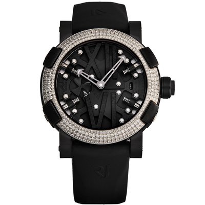 RJ Romain Jerome RJTAUSP.002.03 羅曼杰羅姆 手錶 50mm 機械錶 黑橡膠錶帶 男錶